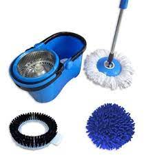 Kit Mop Perfect Pro com Cesto Inox