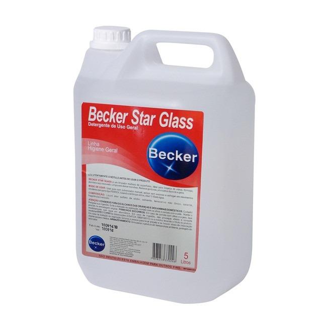 Limpador Multi Becker Star Glass 5L