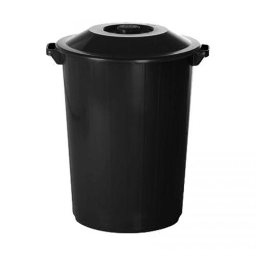 Lixeira Preta 64L Plasvale Recicle