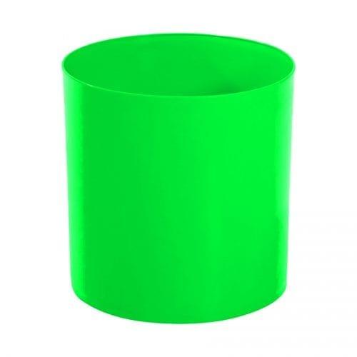 Lixeira Verde 14L 30X24cm Bralimpia