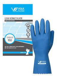Luva de Verniz azul Silver G Volk