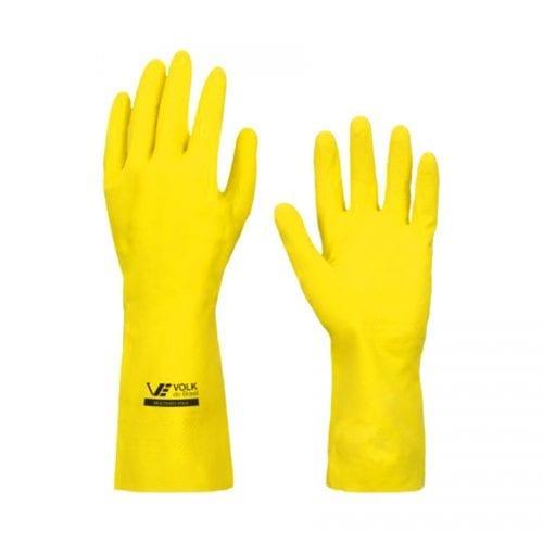Luva Multiuso amarela P Bompack