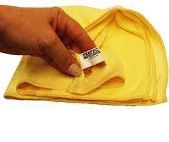 Pano Microfibra amarelo uso universal 40X40cm Perfect