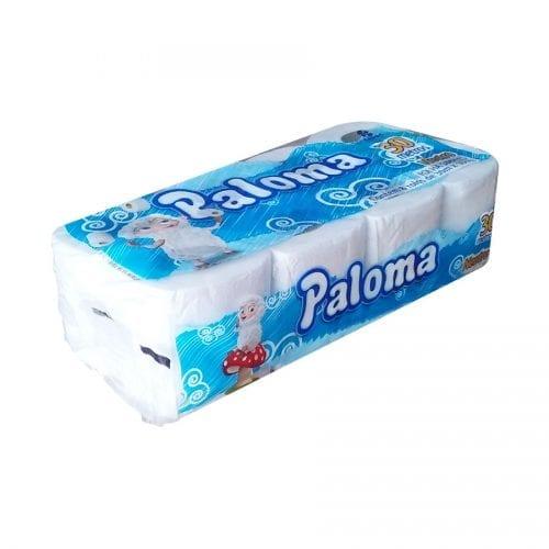 Papel Higiênico 10cmX30m Paloma 8 rolos