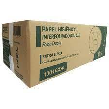 Papel Higiênico Interfolha (cai cai) Folha Simples 9,6X20,5cm Indaial