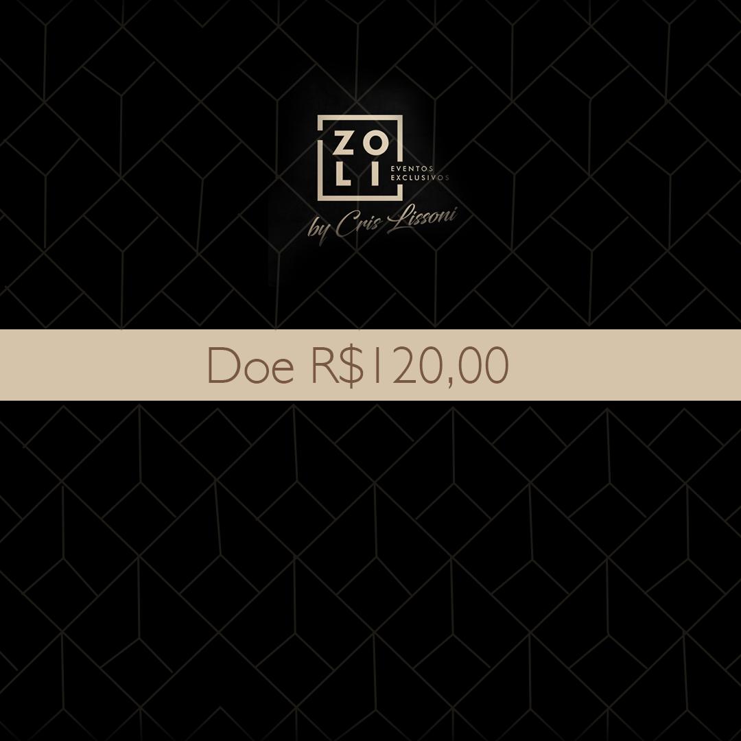Quero Doar R$120,00