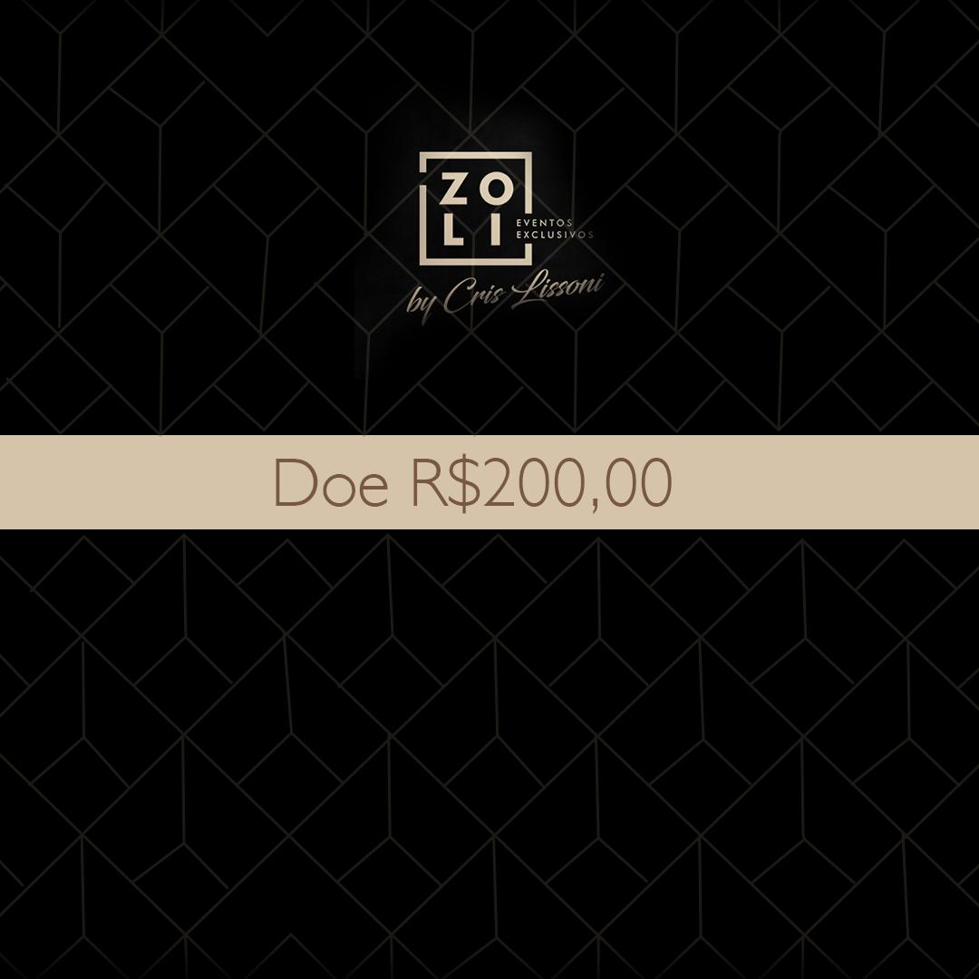 Quero Doar R$200,00