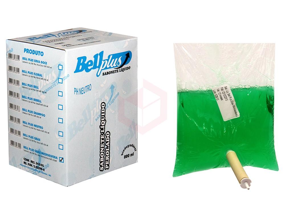 Sabonete Líquido Desengraxante Refil Bell Plus 800ml