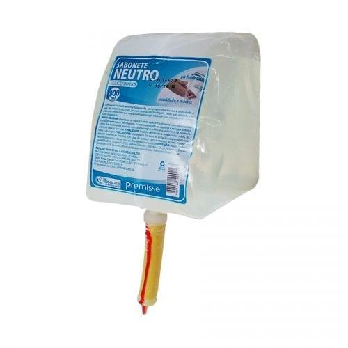 Sabonete Líquido Glicerinado Neutro Refil Premisse 800ml