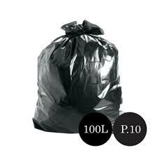 Saco de Lixo preto 101L (100 unidades)