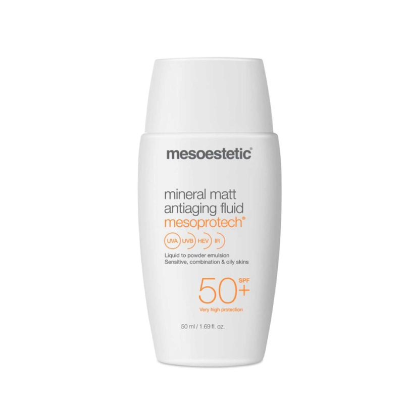 Mesoprotech Mineral Matt Antiaging Fluid FPS 50 - 50ml