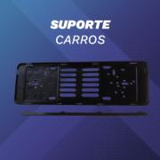 Conjunto de Suporte para Placas Automóvel(1 PAR)
