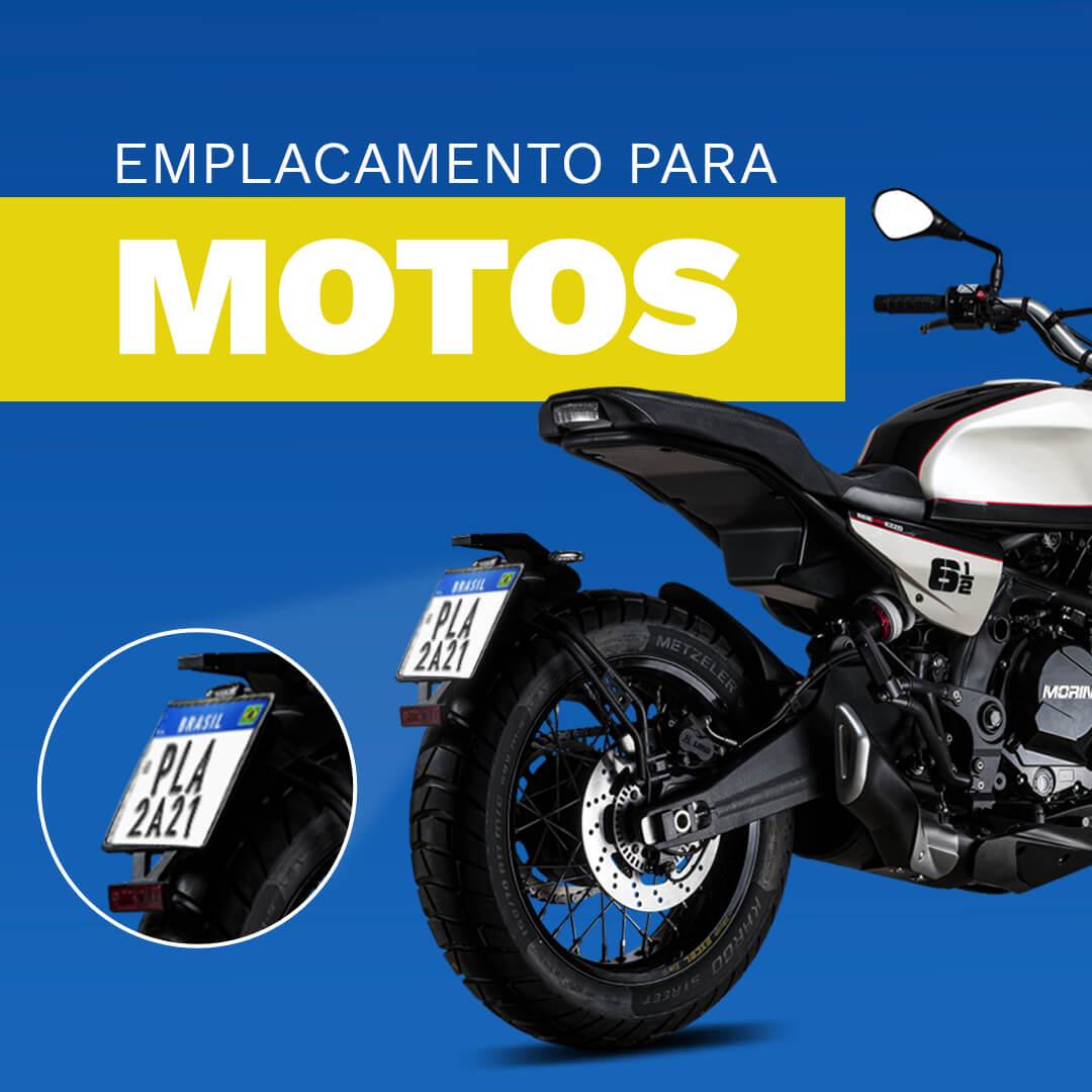 Placas Unitária Motocicletas