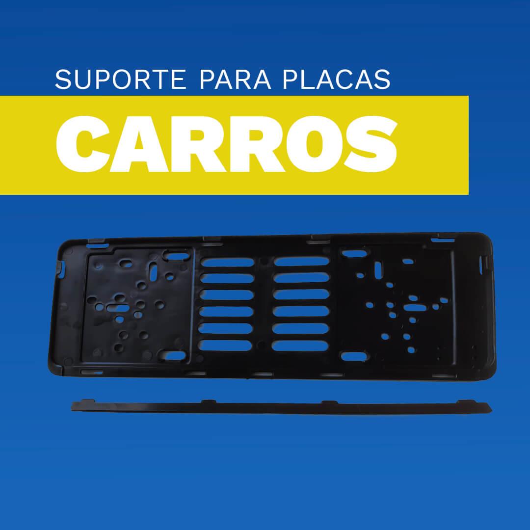 Suporte para Placas Automóvel (UNIDADE)