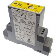 Relé de Tempo com Retardo na Energização 24Vac/Vdc DIN 35mm