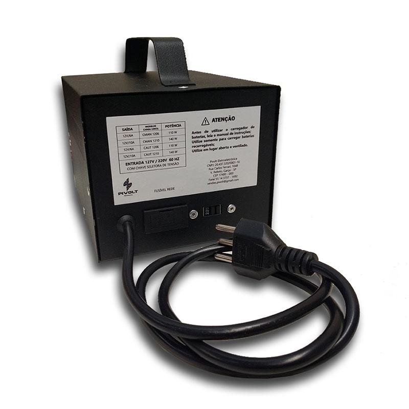 Carregador De Baterias Automotivo 12v 06a Manual