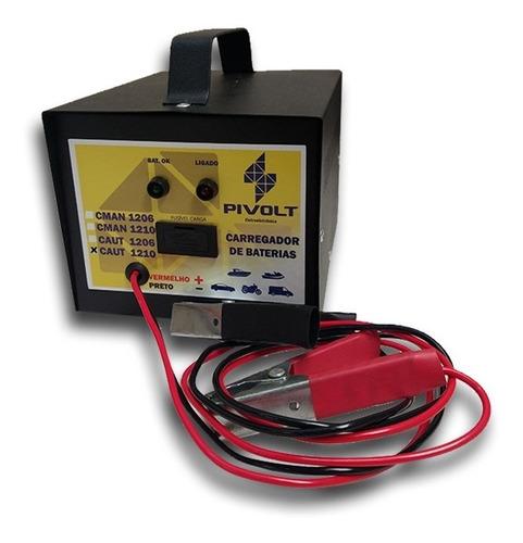 Carregador De Baterias Automotivo 12v 10a Automático