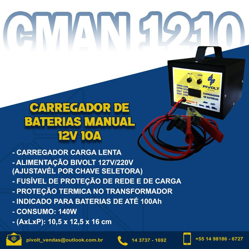 Carregador De Baterias Automotivo 12v 10a Manual