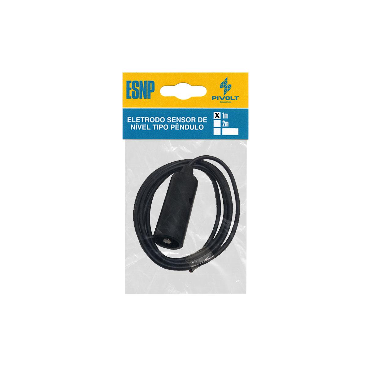 Relé de Nível Inferior DIN 35mm + 3 Eletrodos Tipo Pêndulo cabo de 1m