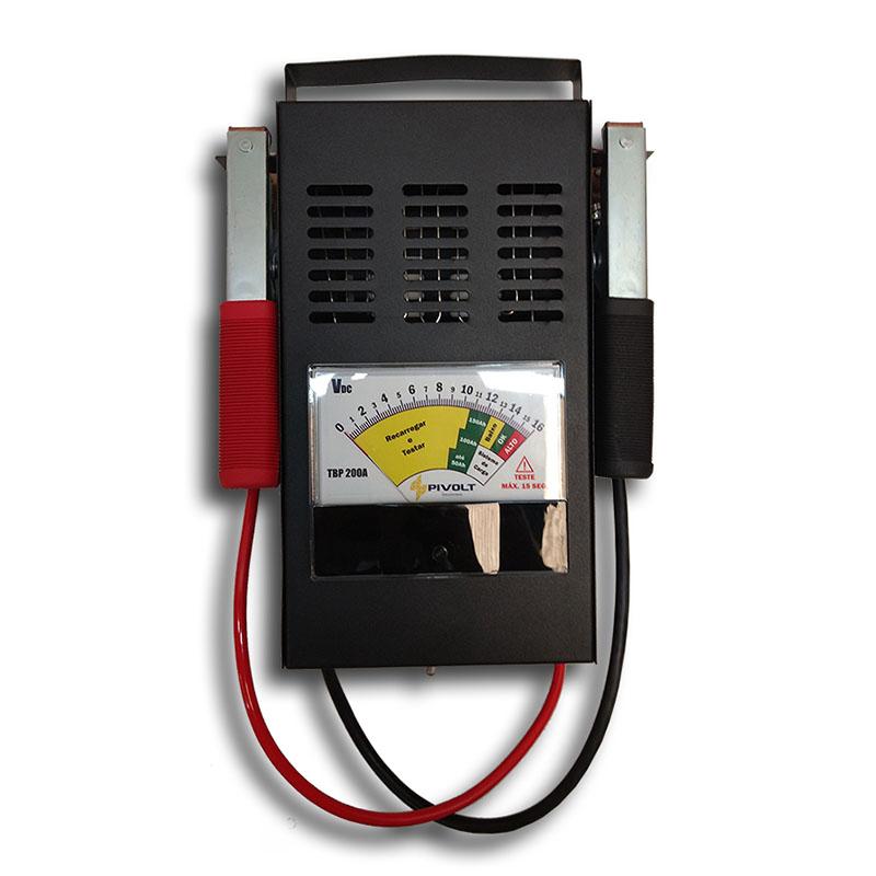 Testador de Bateria Automotiva 200A (4 em 1) Pivolt