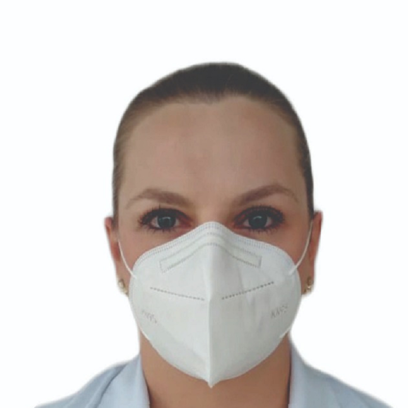 Máscara KN95 Branca com ANVISA