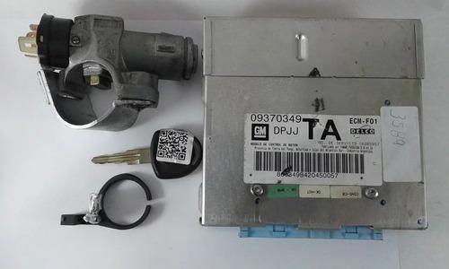 Kit Módulo De Injeção Eletrônica Gm Corsa 1.0 8v 2002