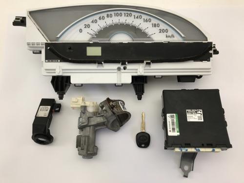Kit Módulo De Injeção Eletrônica Toyota Etios 1.5 16v 2103