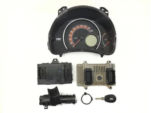 Kit Módulo Injeção Eletrônica Fiat Uno Vivace 1.0 8v 2015