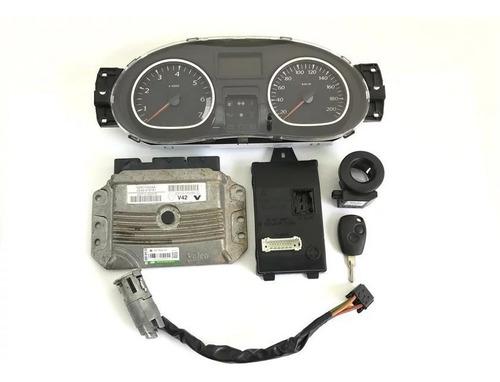 Kit Módulo Injeção Eletrônica Renault Duster 2.0 16v 2013
