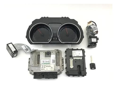Kit Modulo Injeção Nissan Versa Sl 1.6 16v Flex Fuel 2014