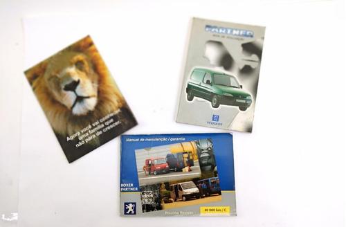 Manual Do Proprietário Peugeot Partner 2000