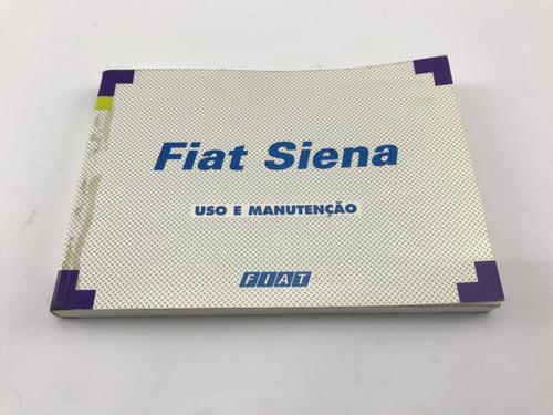 Manual Proprietário Fiat Siena