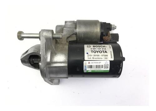 Motor De Arranque Toyota Corolla Altis 2.0 16v 2011