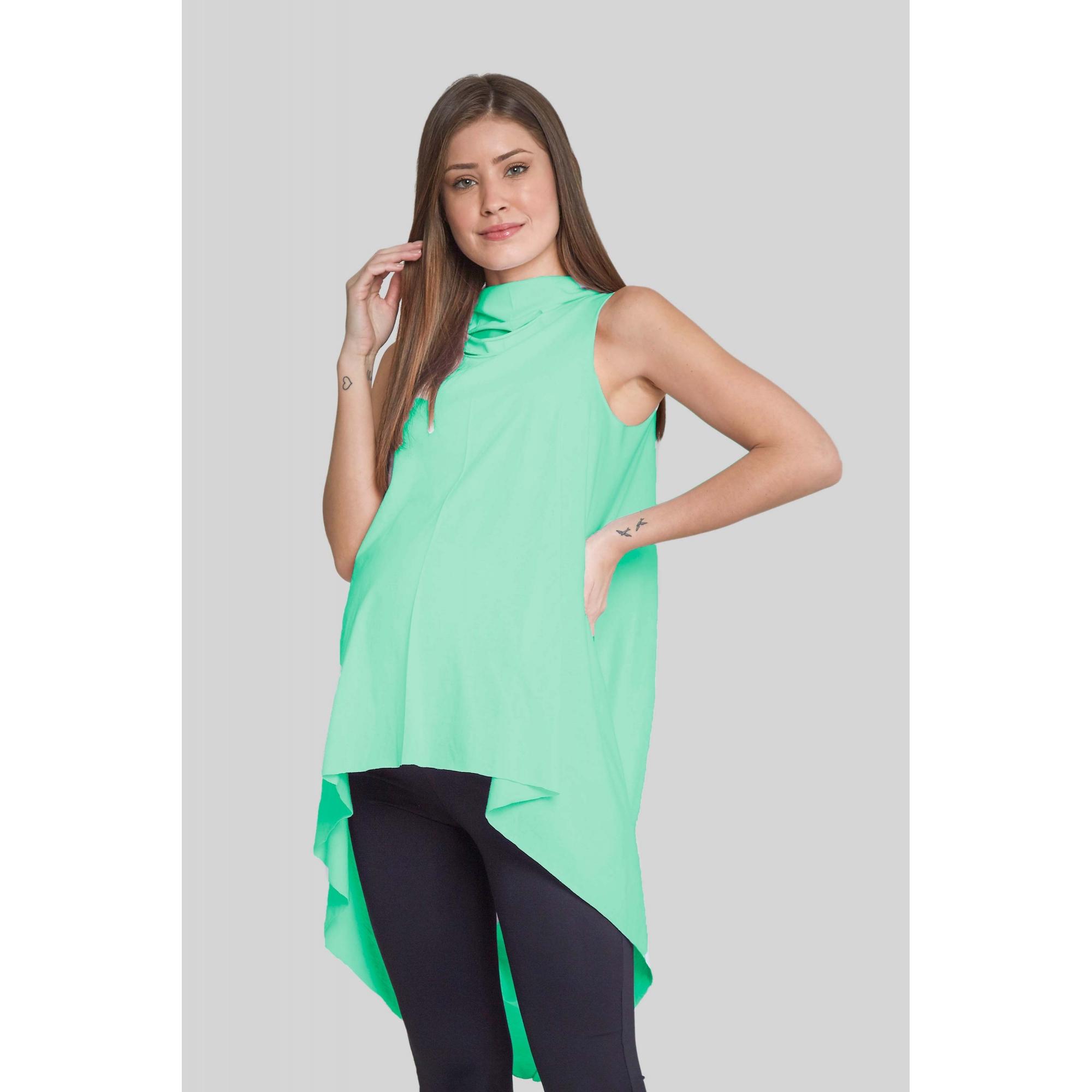 Blusa Gestante Carambola Verde