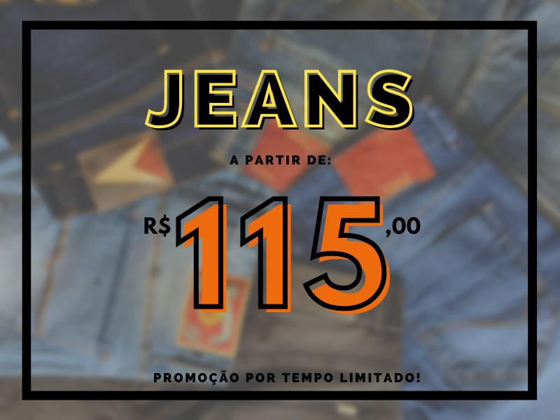 jeans a partir de r$115,00