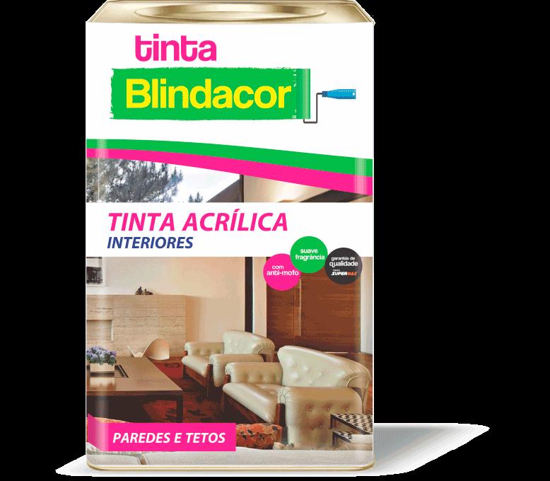 """Tinta Acrílica Interiores """"Blindacor"""""""