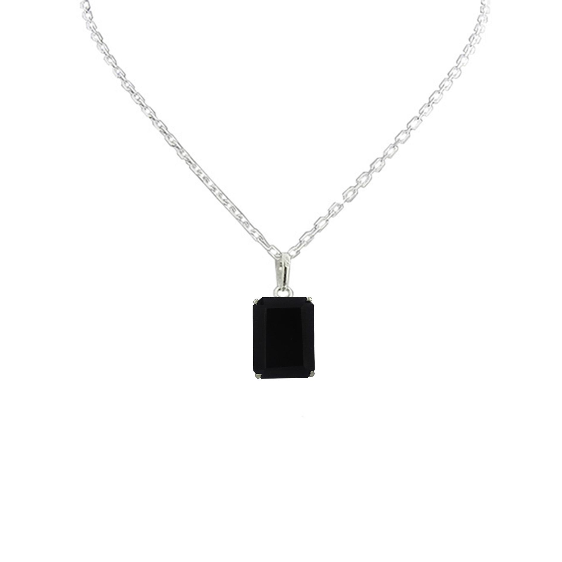 Pingente Obsidiana negra