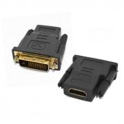 Adaptador HDMI (F) x DVI (M) (24+1 Pinos)