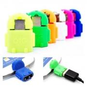 Adaptador Micro USB x USB Android OTG###