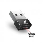 Adaptador USB (M) x Tipo C (F) X-Cell
