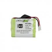 Bateria Recarregável p/ Telefone Sem Fio 3,6V 450mAh FX-45U