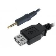 Cabo P2 4 vias Estéreo x USB Fêmea 1,5m*