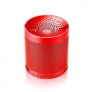 Caixa De Som Bluetooth 8W FM USB Micro SD D-Q3 Vermelha