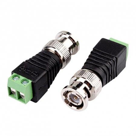Conector BNC - 2 unidades###