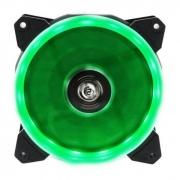 Cooler Fan 12cm com 15 LEDs Verde Hoopson