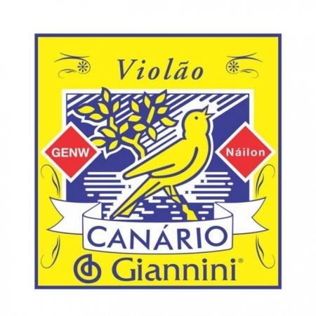 Encordoamento Em Nylon P/ Violão Giannini GENW - Canário*