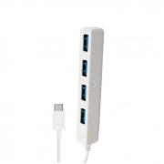 Hub USB Tipo C com 4 USB 3.0 X-Cell XC-HUB-9