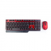 Kit Teclado e Mouse S/Fio USB Kross Elegance KE-KM553V1###