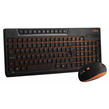 Kit Teclado e Mouse Sunset Wireless###