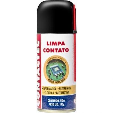 Limpa Contato 210ml Contactec